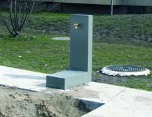 Trinkbrunnen – Mettler Landschaftsarchitektur